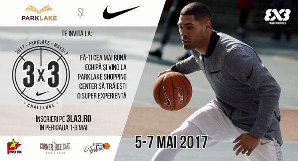 ParkLake Shopping Center găzduiește deschiderea oficială a sezonului de baschet trei la trei din România