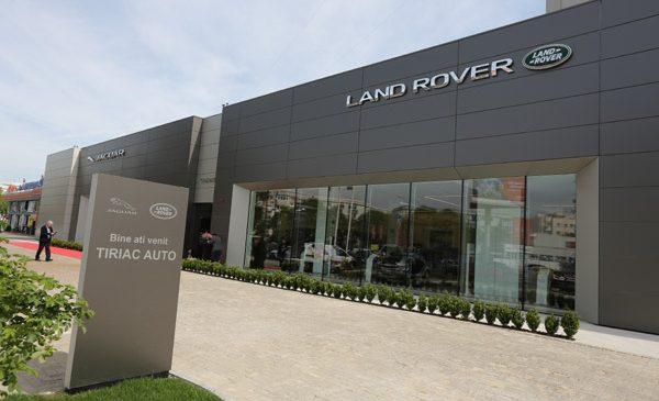 Țiriac Auto deschide primul showroom Jaguar Land Rover din România aliniat la noile standardele de design ale celor două mărci