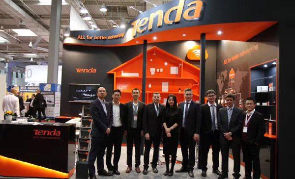 Produsele TENDA prezentate la CeBIT 2017