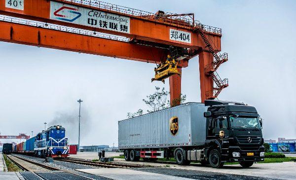 UPS extinde serviciul feroviar China-Europa