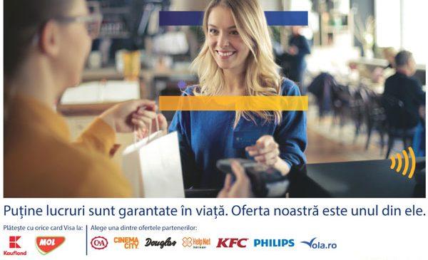 """Visa continuă """"poate cea mai simplă promoţie din lume"""" printr-o nouă campanie dezvoltată de Publicis & Nurun România"""