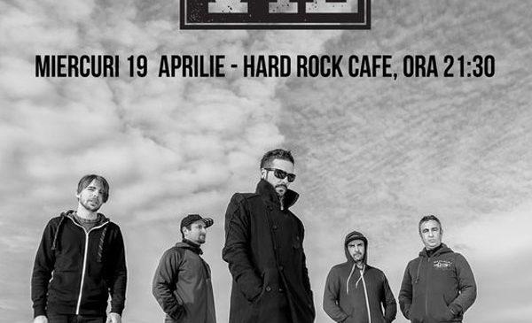 Concert Vita de Vie – Electric pe 19 aprilie la Hard Rock Cafe