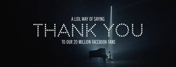 20 de limbi străine, 1 cântec – Lidl sărbătorește 20 de milioane de fani