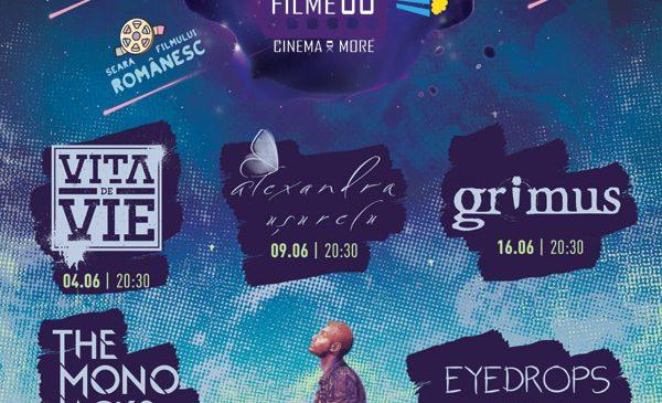 Pe 4 iunie se redeschide Grădina cu Filme – Cinema & More