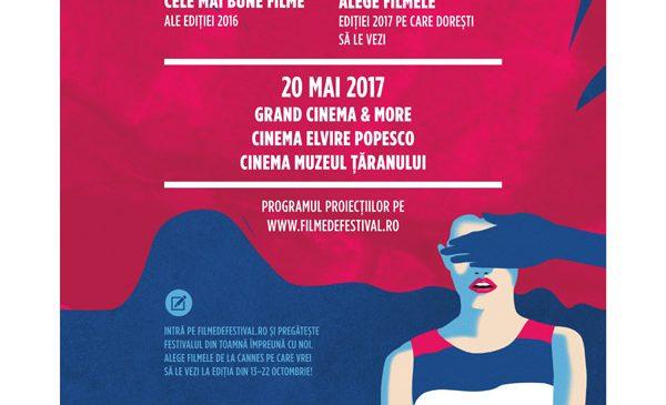 Les Films de Cannes à Bucarest – Retrospectivă/Warm-up pe 20 mai la Grand Cinema & More, Cinema Elvire Popescu și Cinema Muzeul Țăranului
