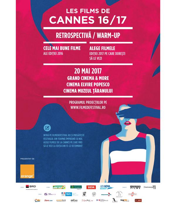 Les Films de Cannes à Bucarest - Retrospectivă/Warm-up pe 20 mai la Grand Cinema & More, Cinema Elvire Popescu și Cinema Muzeul Țăranului