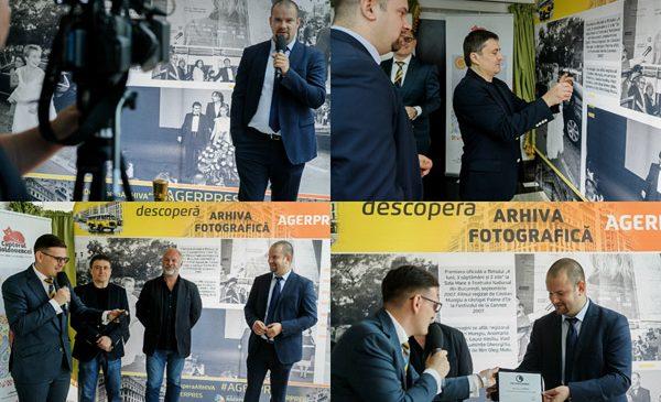 Arhiva fotografică AGERPRES vernisată în prezența regizorului Cristian Mungiu în deschiderea festivalului Serile Filmului Românesc