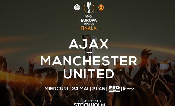 Finala UEFA Europa League, în direct la Pro TV, pe 24 mai, de la 21:30