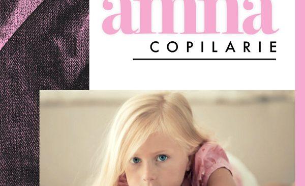 "Amna lanseaza astazi ""Copilarie"", un omagiu adus celei mai frumoase perioade din viata"