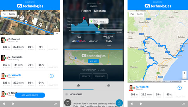 Eurosport intră în parteneriat cu CA Technologies pentru Marile Tururi de ciclism, creând o aplicație complementară TV-ului