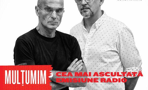"""CTP despre succesul emisiunii sale de la Europa FM: """"Dacă vorbești unui număr foarte mic de oameni, meseria nu are sens"""""""