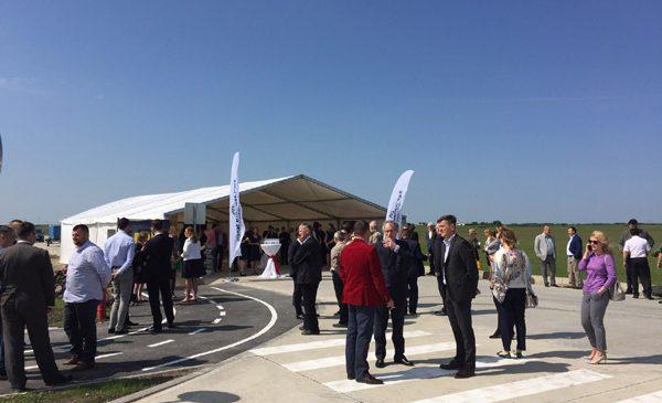 Banat Business Park, cel mai mare Parc Industrial din vestul țării, și-a deschis oficial porțile astăzi