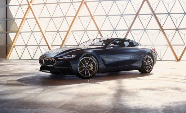 BMW Concept Seria 8. Dinamică veritabilă şi lux modern – esenţa unui coupé BMW