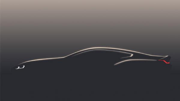 Primul teaser al viitorului BMW Seria 8 Coupé ce va fi prezentat la Concorso d'Eleganza Villa d'Este, la 26 mai 2017