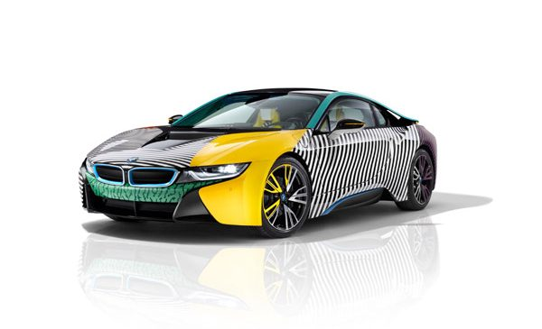 Premieră nord-americană exclusivistă a BMW i8 MemphisStyle la Frieze Art Fair New York