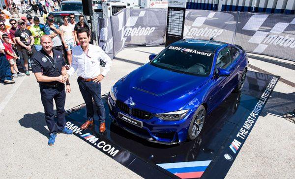 Premiu pentru cel mai bun pilot din calificările MotoGP 2017: câştigătorul BMW M Award 2017 va primi noul BMW M4 CS
