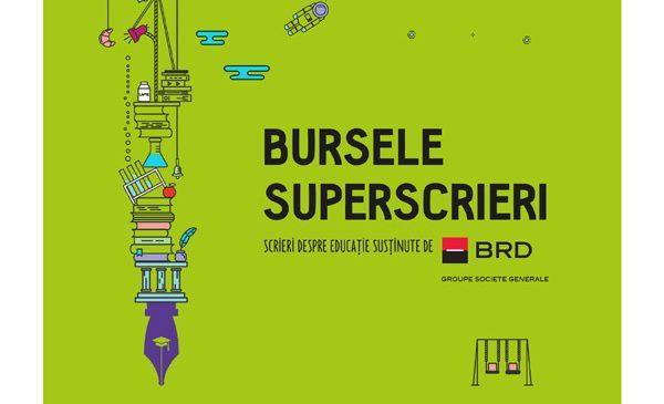 Modele de reformare a școlii românești – Bursele Superscrieri/BRD oferă 6.000 de euro pentru proiecte jurnalistice despre educaţie