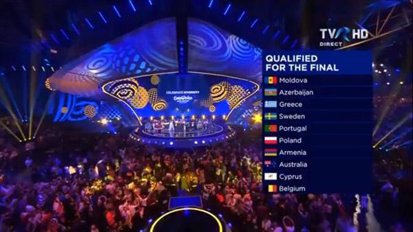 Eurovision 2017: primii zece concurenţi calificaţi în Marea Finală