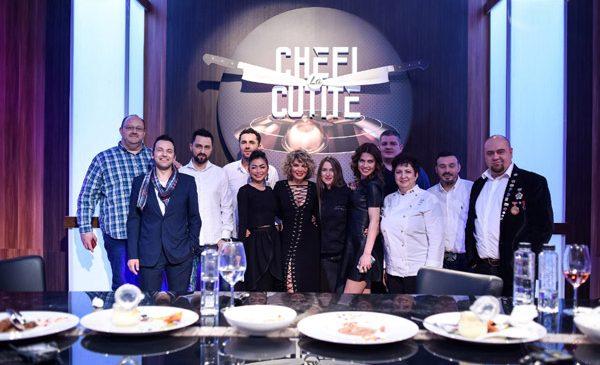 """Semifinala """"Chefi la cuțite"""" a fost lider de piață pe toate categoriile de public"""