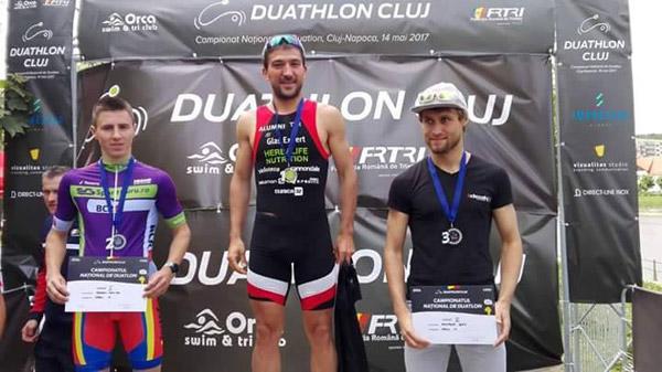 Ciprian Bălănescu obţine al 13-lea titlu de campion naţional la duatlon