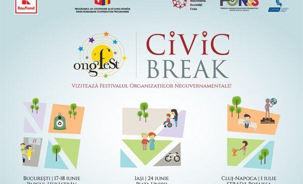 ONGFest 2017 te invită în Civic Break