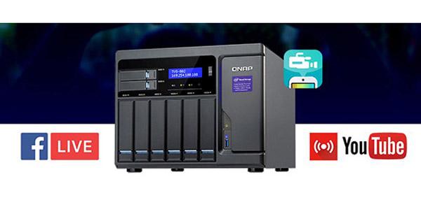 QNAP DJ2 Live permite streaming video 4K salvând materialul pe NAS