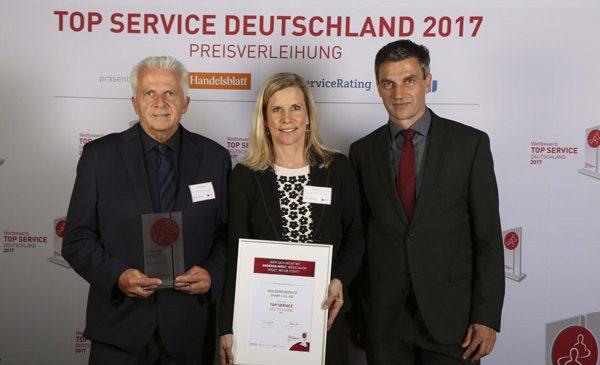 """Competiţia Top Service 2017: DKV este furnizorul de servicii cel mai orientat către client din Germania, la categoria """"Transport şi Logistică"""""""