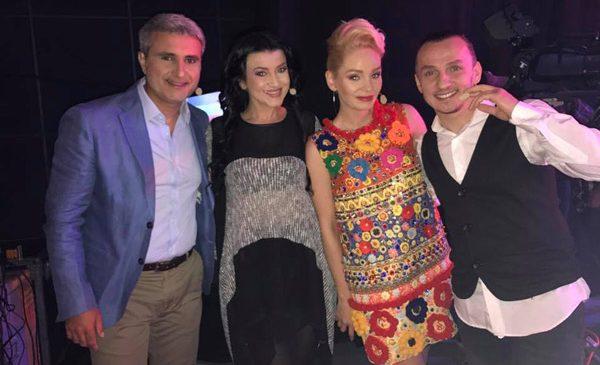 """Trăistariu, Turcescu, Maria Constantin şi Ana Maria Mirică la """"Duelul pianelor"""""""