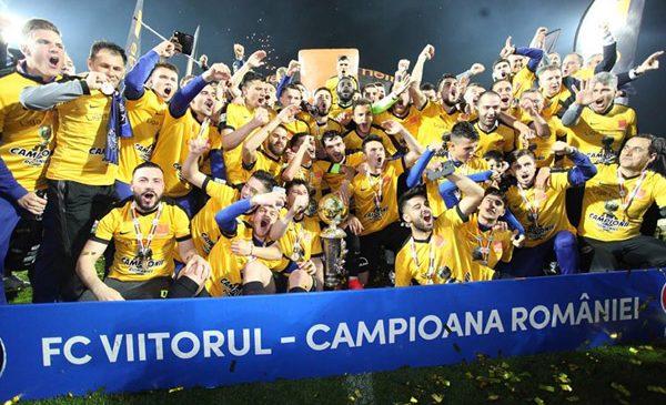 Herbalife felicită echipa FC Viitorul pentru câştigarea campionatului