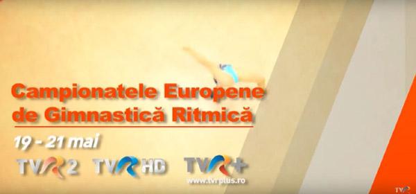 Televiziunea Română transmite în direct şi exclusivitate de la Budapesta Campionatele Europene de gimnastică ritmică
