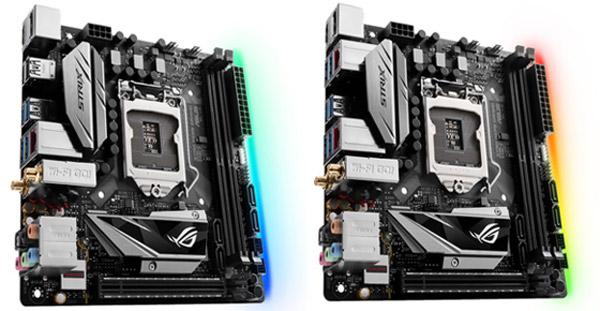 ASUS Republic of Gamers lansează plăcile de bază Strix H270I Gaming și B250I Gaming