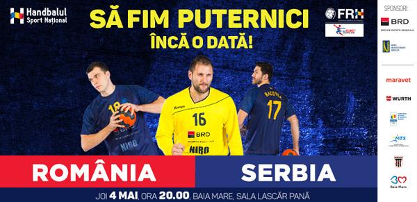 Transmisiuni istorice la TVR 2: lupta României cu Serbia, pentru calificarea, după 22 de ani, la Campionatul European de Handbal Masculin