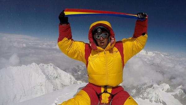 Horia Colibășanu a dus steagul României în cel mai înalt loc de pe Pământ