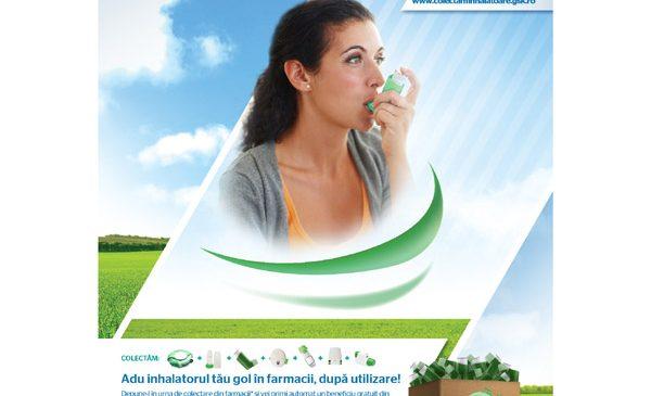 GSK România lansează prima infrastructură națională de colectare a inhalatoarelor folosite de la pacienți