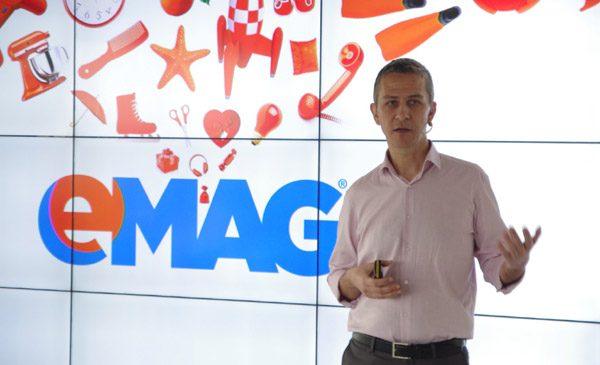eMAG a crescut cu 45% în România, în 2016