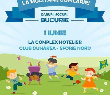 La multi ani, copilarie! Daruri, jocuri, bucurie – eveniment de 1 iunie cu si pentru copiii din centre de plasament