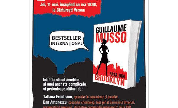 Fata din Brooklyn, de Guillaume Musso, lansare de carte joi, 11 mai, ora 19.00