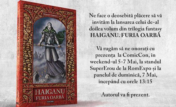 """Editura HAC!BD lansează al doilea volum din trilogia fantasy """"Haiganu"""" și varianta horror a poveștii """"Capra cu trei iezi"""""""
