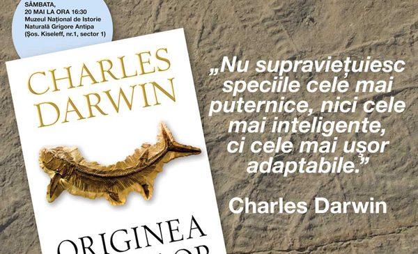 Eveniment editorial: Lansare ORIGINEA SPECIILOR de Charles Darwin