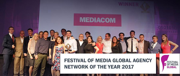 MediaCom a devenit Reteaua Anului la Festival of Media Global Awards 2017