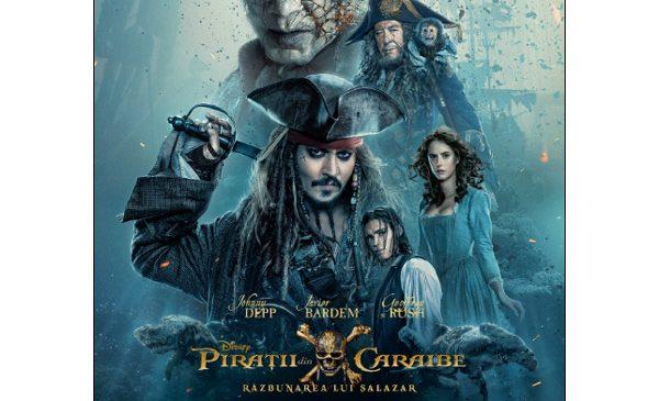 Din nou la cinema, pe urmele celui mai aiurit şi mai amuzant pirat
