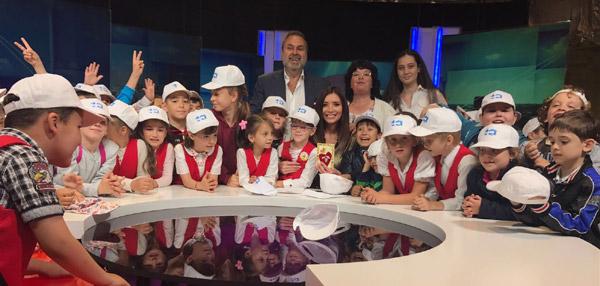 Copiii au luat cu asalt sediul Kanal D
