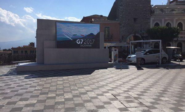 Enel aduce mobilitatea electrică la summit-ul G7 din Taormina