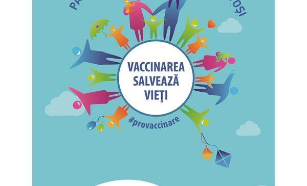 """""""Vaccinarea salvează vieţi"""""""