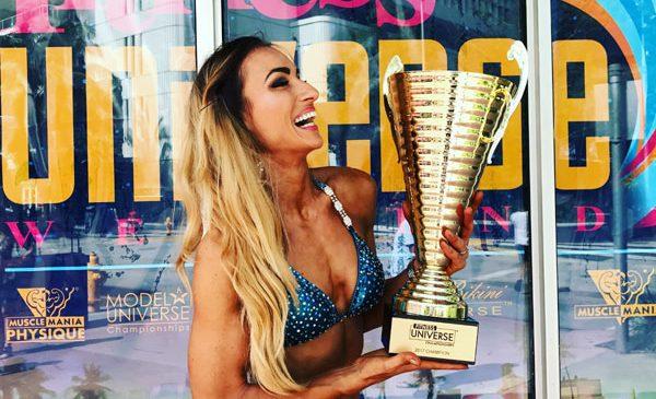 Anca Bucur câştigă pentru a cincea oară Miss Fitness Universe 2017