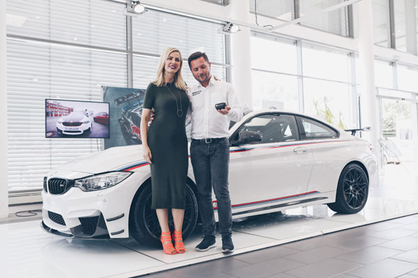 BMW M4 DTM Champion Edition delivery in Romania