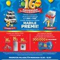 Campania Aniverasara 16 ani Carrefour