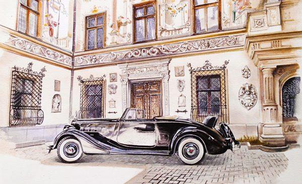 Participare de excepţie BMW Classic la Concursul de Eleganţă Sinaia, unul dintre cele mai speciale evenimente din regiune dedicate automobilelor de epocă