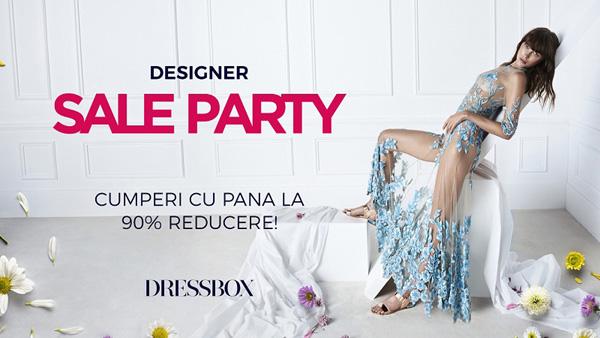DRESSBOX anunță reduceri masive la rochii și accesorii de designeri