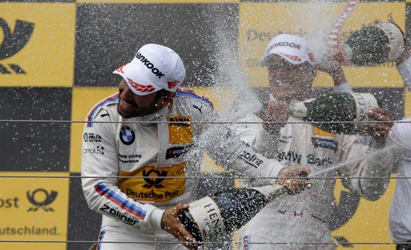 Reveniri spectaculoase şi trei clasări pe podium pentru BMW Motorsport în etapa DTM de la Budapesta